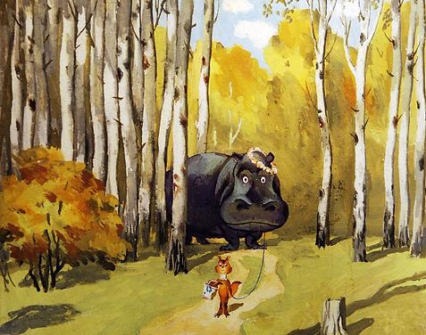 Детский новогодний конкурс к 100-летнему юбилею Леонида Шварцмана, советского и российского режиссёра- мультипликатора и художника.