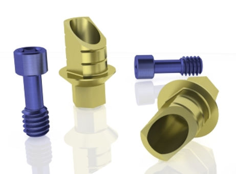 Gold Ti-Base by Skvirsky Dental Solutions