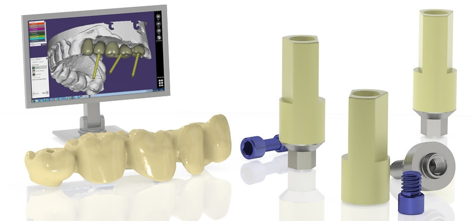 Skvirsky CAD/CAM Implant scan abutmnents