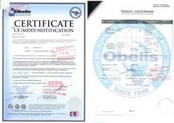 Skvirsky CE certificate