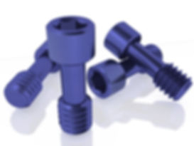 Blue Direct Prosthetic Screws by Skvirsky Dental Solutions