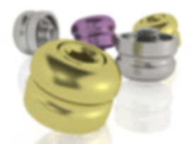 Dental Healing Caps for Multi-Unit Abutment, Colorful by Skvirsky Dental Solutions