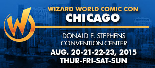 Wizard World Comic Con Chicago - Table G27 in Artist Alley