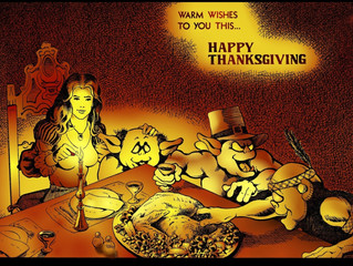 Happy Thanksgiving blessings from the Trollord family to yours