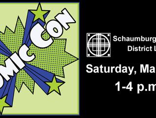 Schaumburg Library Comic Con March 5, 2016