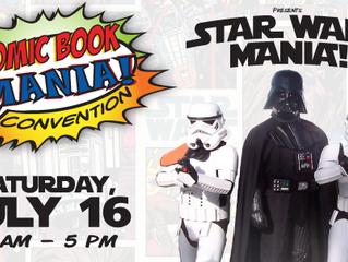 Comic Book Mania in Elgin, IL July 16, 2016