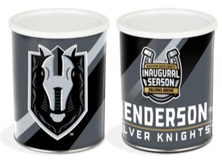 Henderson Silver Knights Inaugural Popcorn Tin