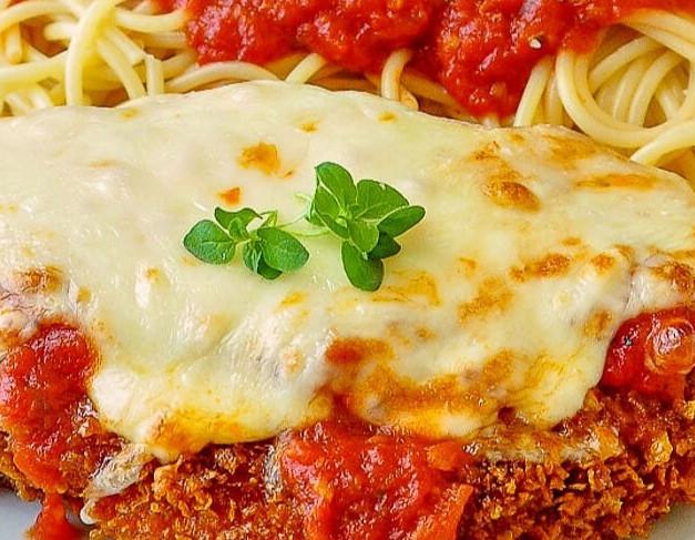 Chicken Parmigianna DInner
