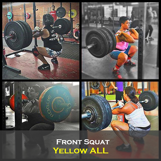 Front Squat Yellow ALL