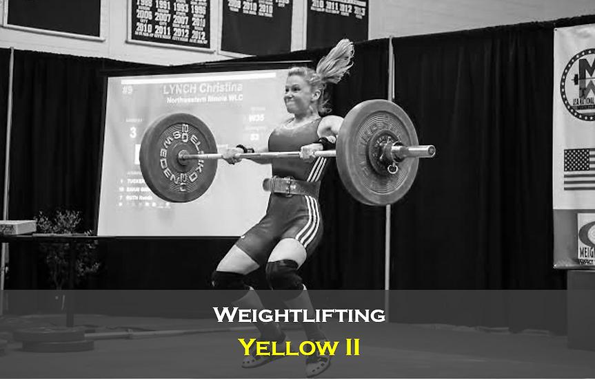 Weightlifting Yellow II