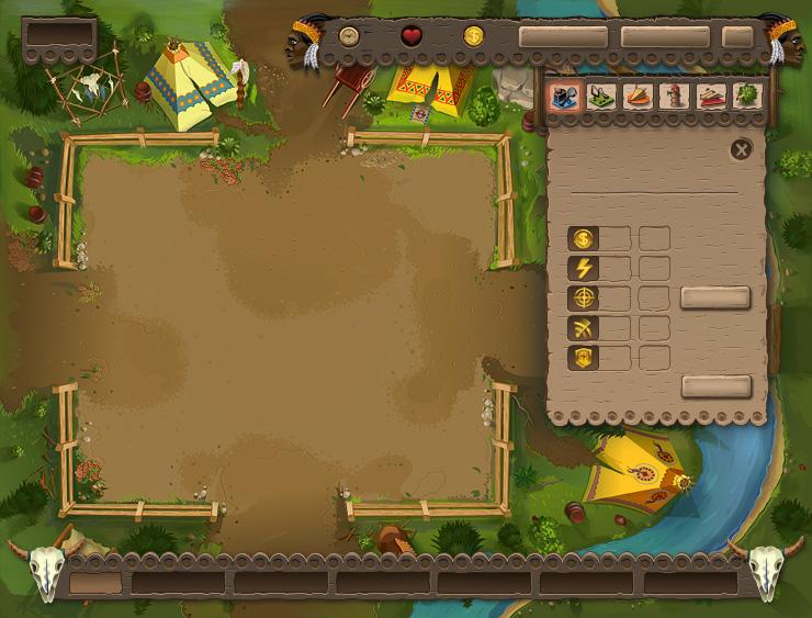 Дизайн интерфейса игры