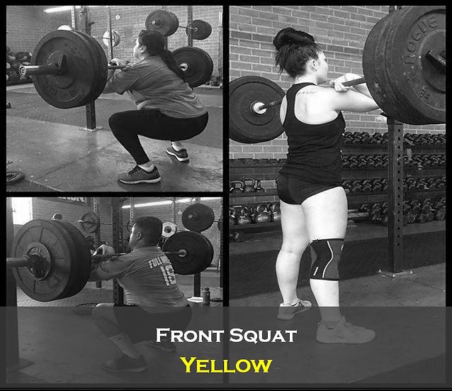 Front Squat Yellow
