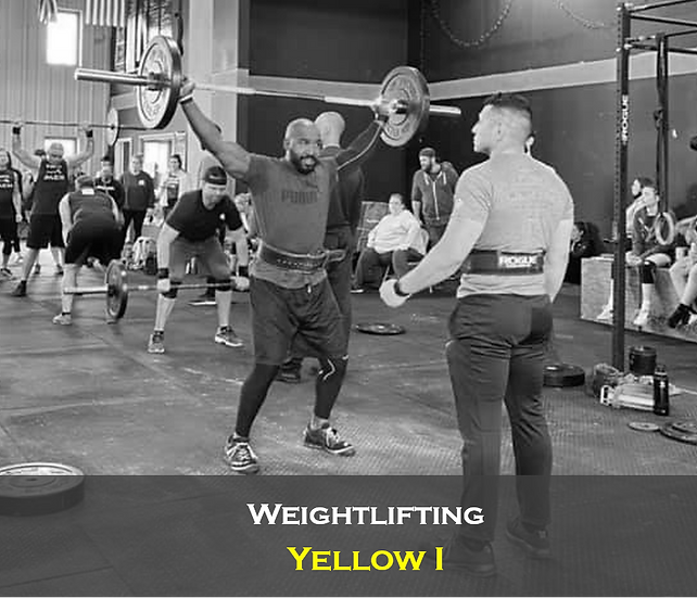 Weightlifting Yellow I