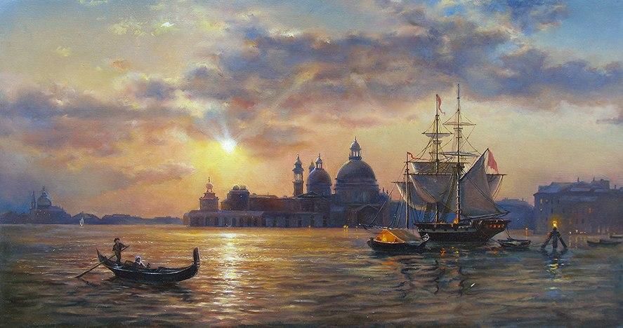 """""""Закат в Венеции"""""""