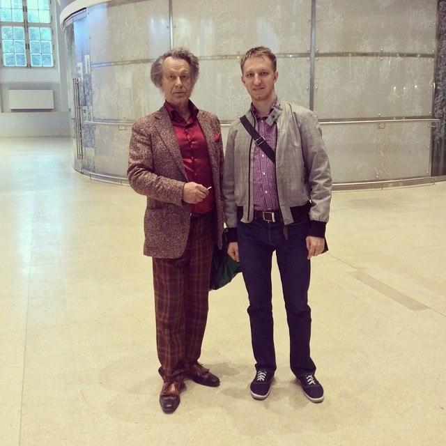 С Александром Шиловым