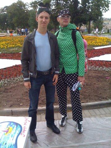 С Андреем Бартеневым