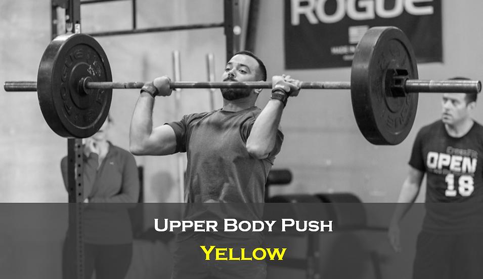 Upper Body Push (Male) Yellow