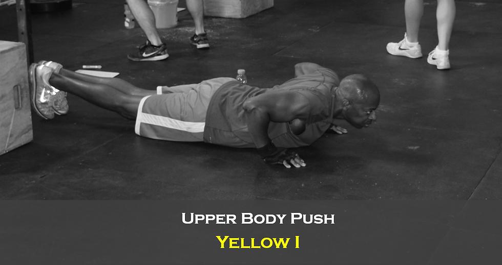 Upper Body Push (Male) Yellow I