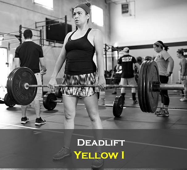 Deadlift Yellow I