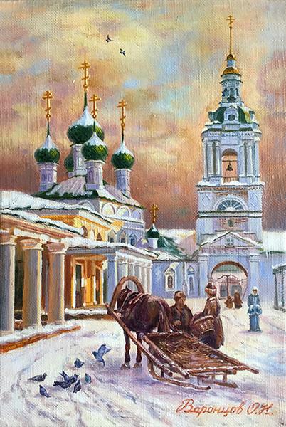 """""""Зимние ряды"""" (2 вариант)"""