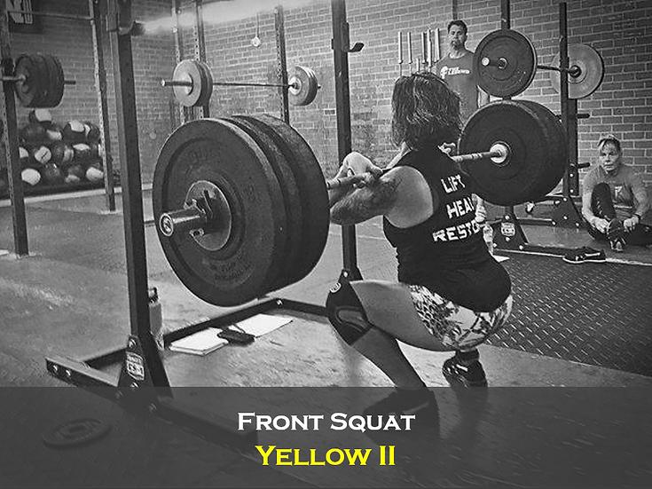 Front Squat Yellow II