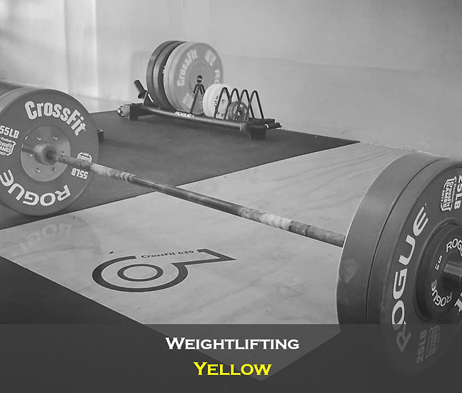 Weightlifting Yellow