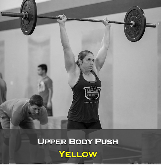 Upper Body Push (Female) Yellow