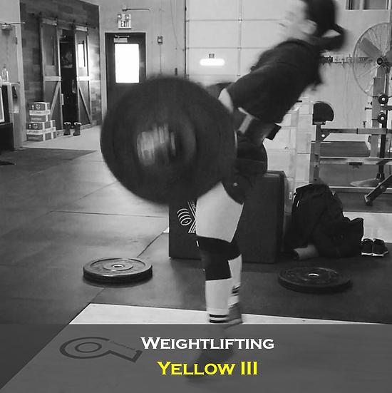 Weightlifting Yellow III
