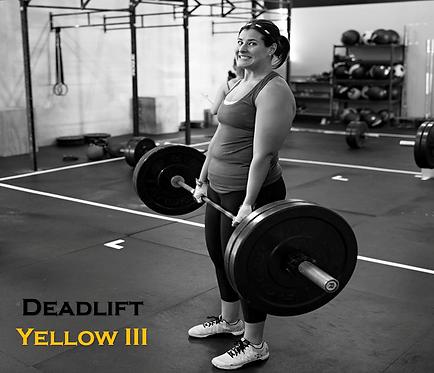 Deadlift Yellow III
