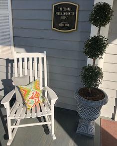 Elizabethtown NC Inn porch