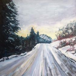 East Ootsa Lake Rd Winter, 2017 SOLD