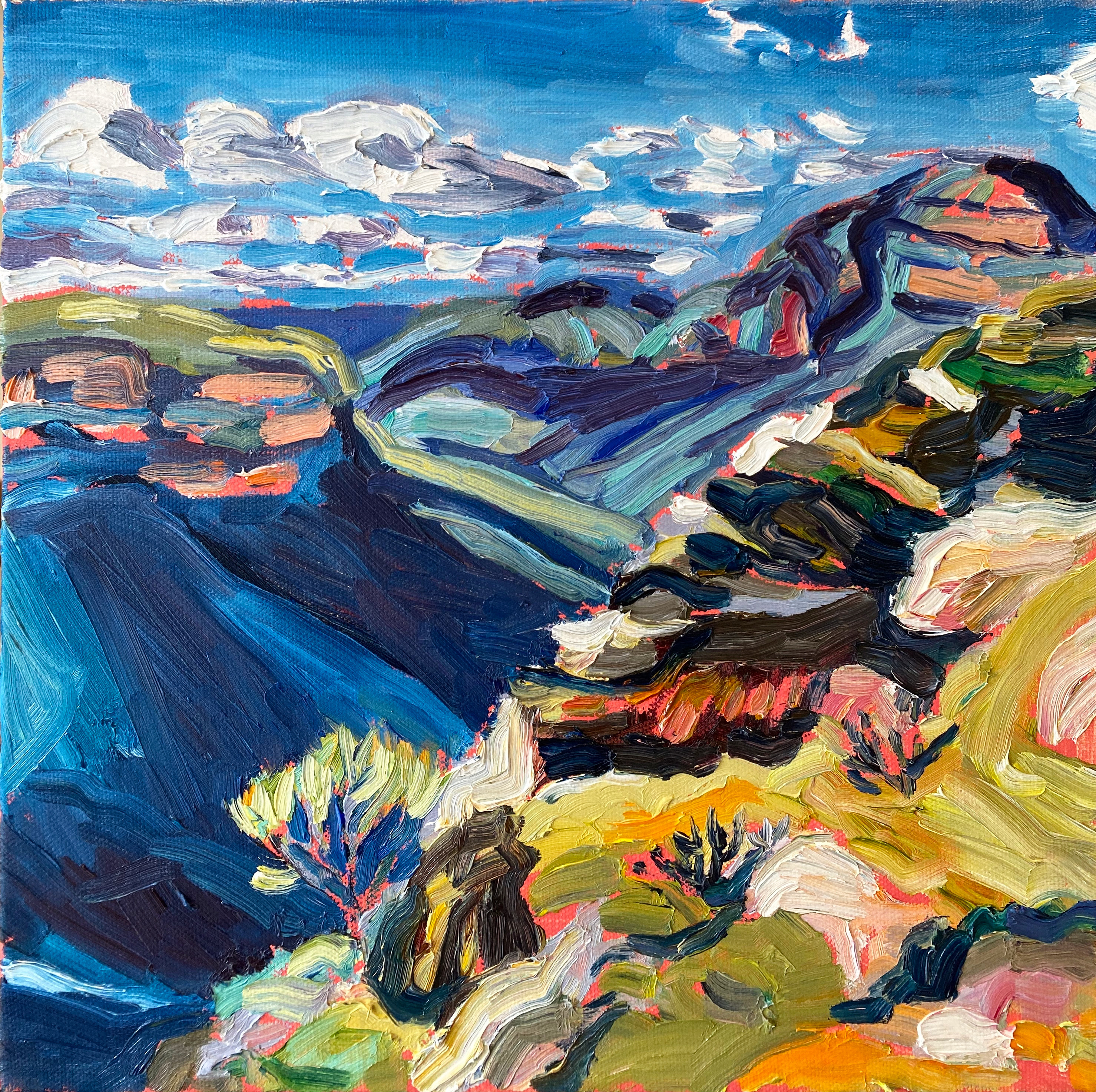Blue View to Blackheath