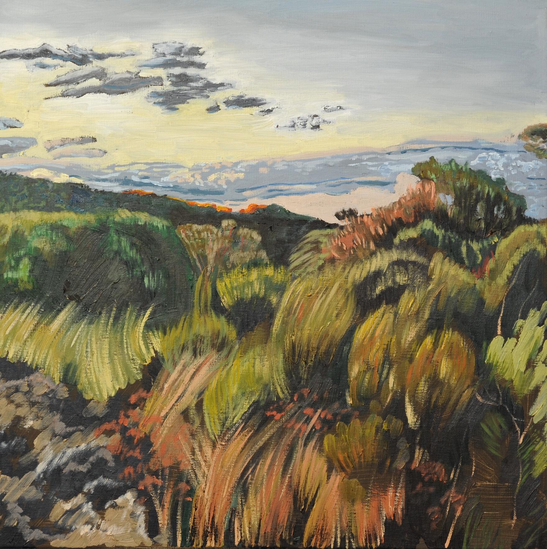 Windy Sunset, Kings Tableland, 2016