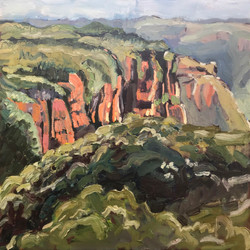 Mt Hay Plein Air 2