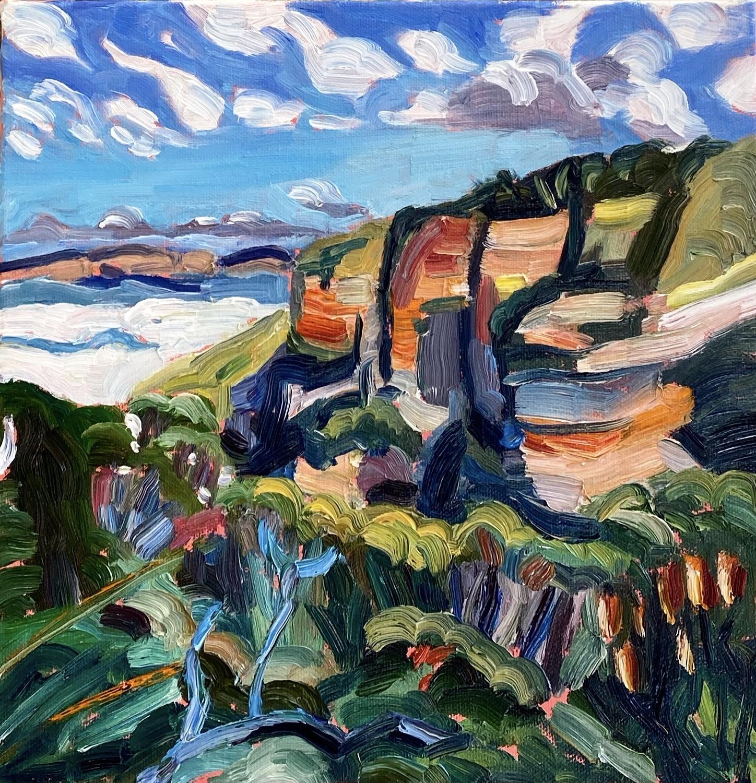 Cliffs and Mist