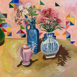 Nan Perry's Pink Coffee Pot