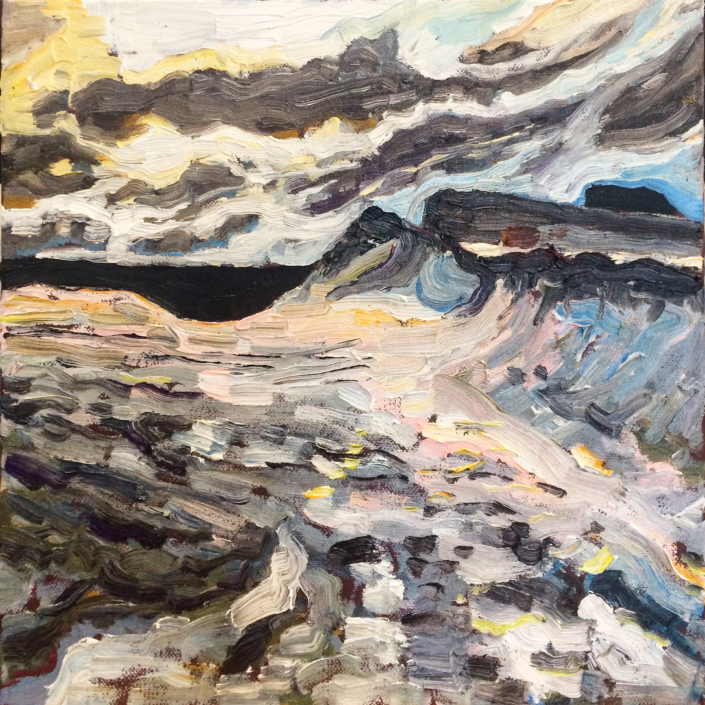 Flat Rock, Rock Study, 2016