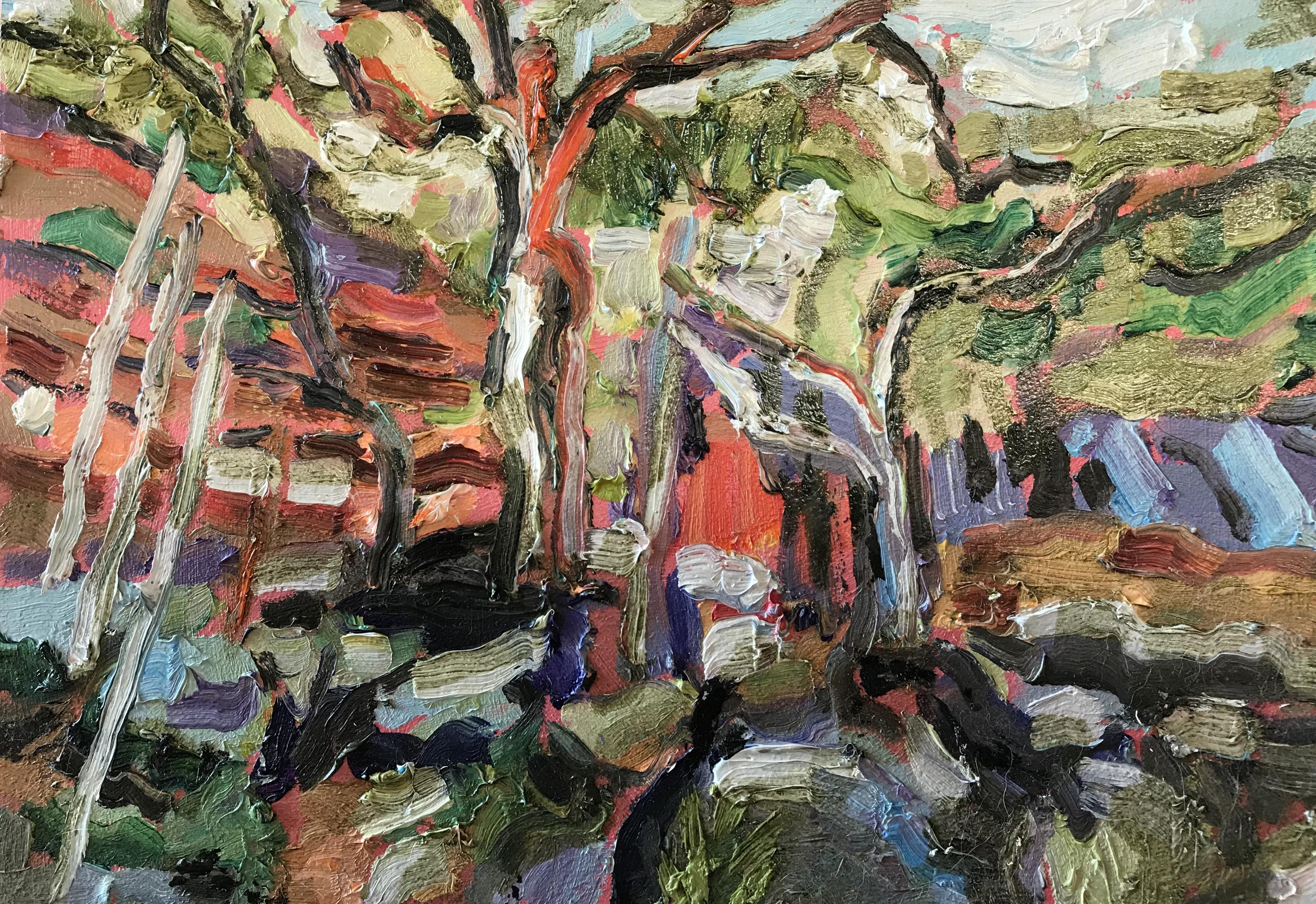 Goulburn River Gums, Study, 2018