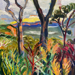 Katoomba Through the Trees