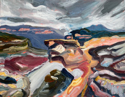 Winter Rocks Mt Hay