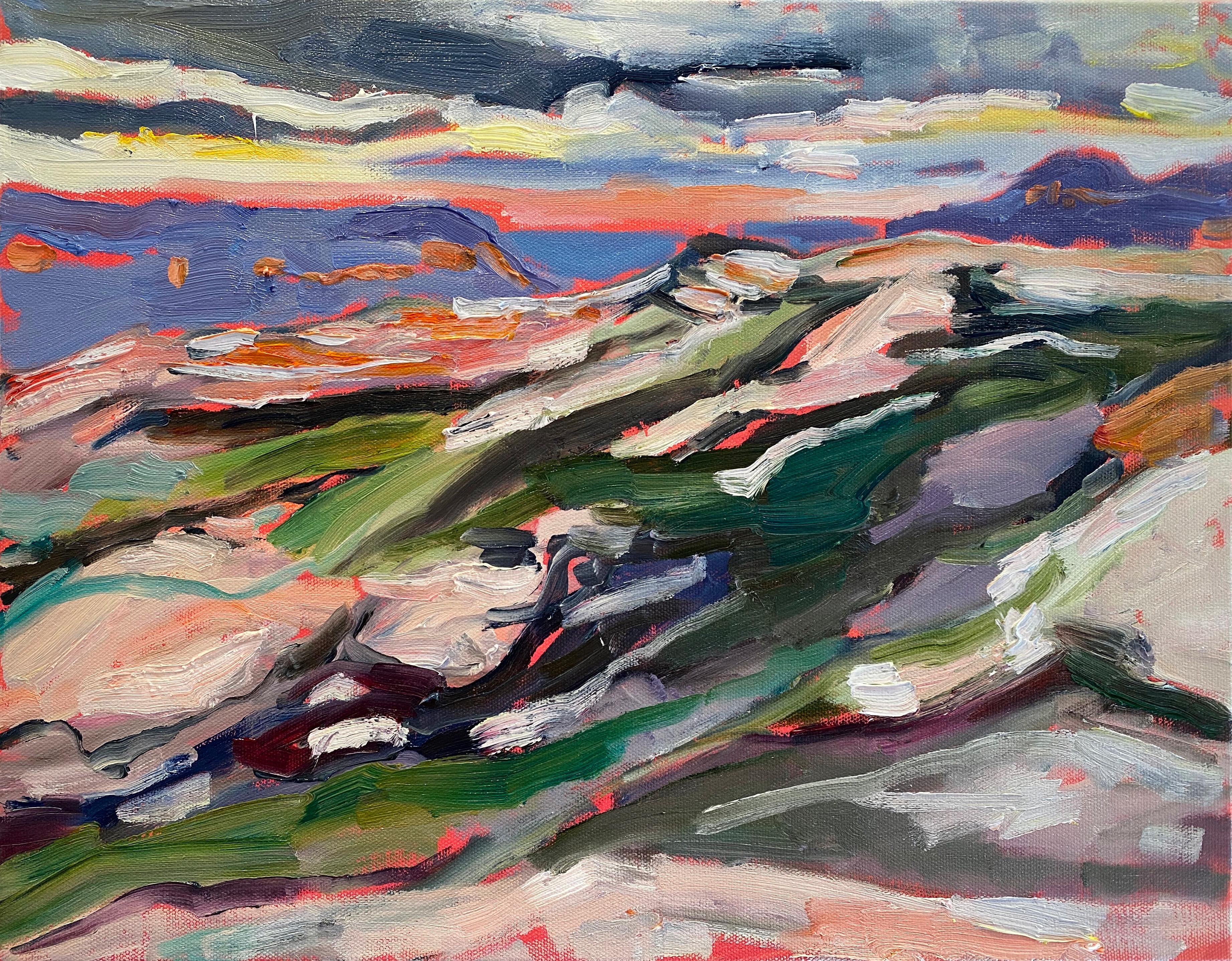 Mt Hay Autumn Sunset 2020