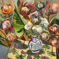 Lilies and Proteas