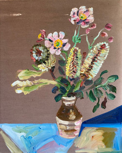 Banksias and Wind Flowers