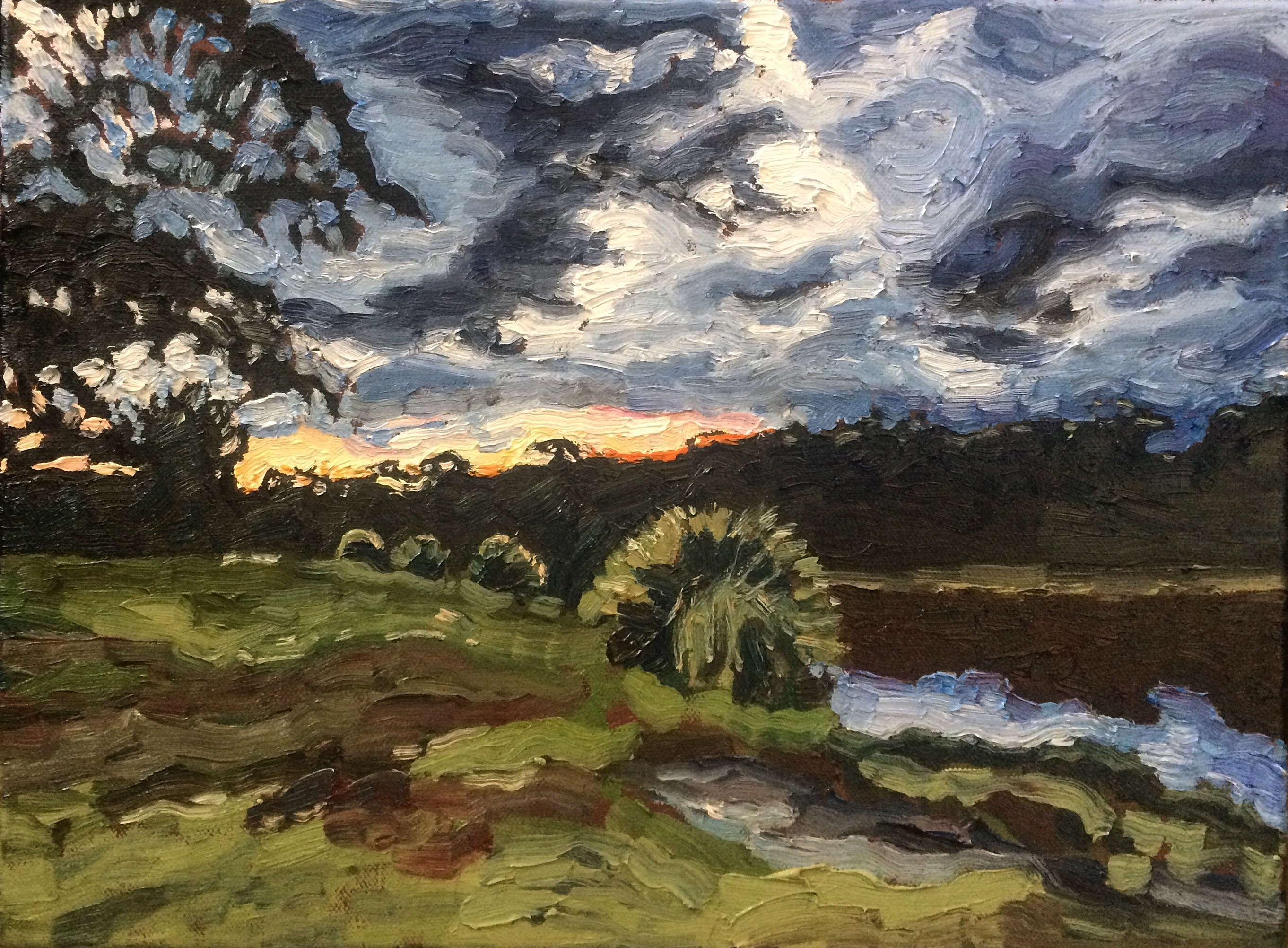 Wentworth Falls Lake Twilight, 2016