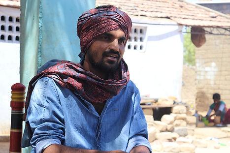 Kuldip Gadhvi, founder of United Artisans of Kutch ©CIPRI