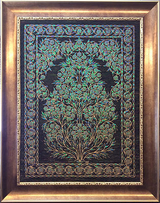 Asif embroidery beetle wings