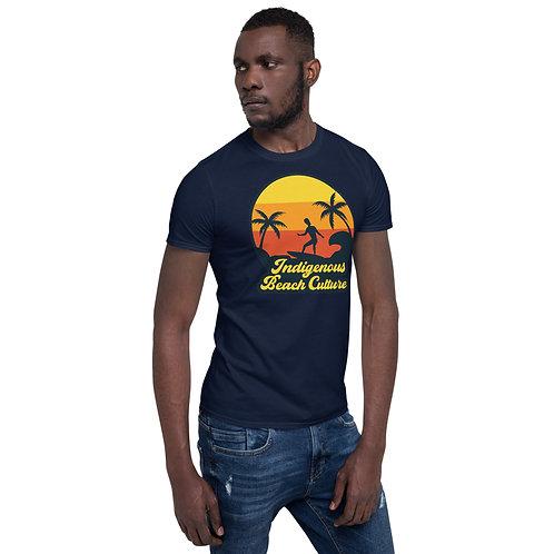 Afro Surfer Bro Culture Short-Sleeve Unisex T-Shirt