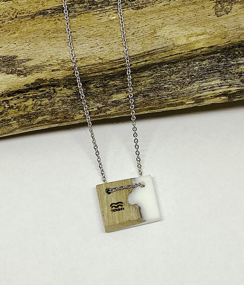 White Mini Bar Pendant