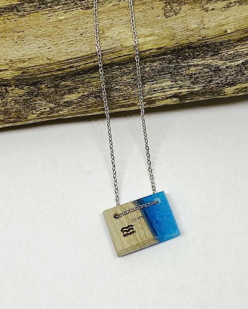 Water Blue Mini Bar Pendant