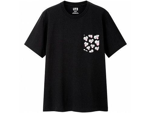 KAWS x Uniqlo BFF Pocket Tee Black